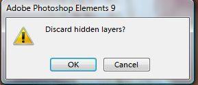 Photoshop Elements Tutorial: Flatten vs. Merge vs. Stamp Visible