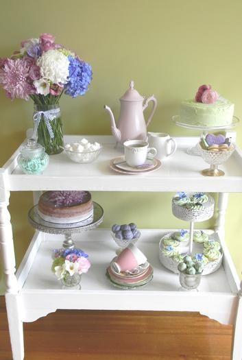 high tea: Tea Party, High Tea, Change Table, Party Ideas