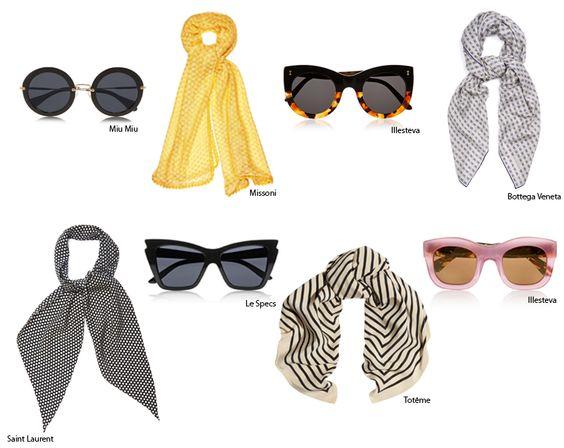 Mascadas + lentes de sol 3