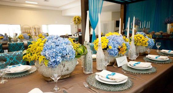 de Casamento em Azul  wedding ideas  Pinterest  Wedding, Casamento