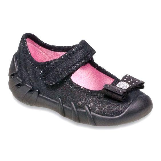 Befado Obuwie Dzieciece 109p146 Czarne Shoes Childrens Shoes Baby Shoes