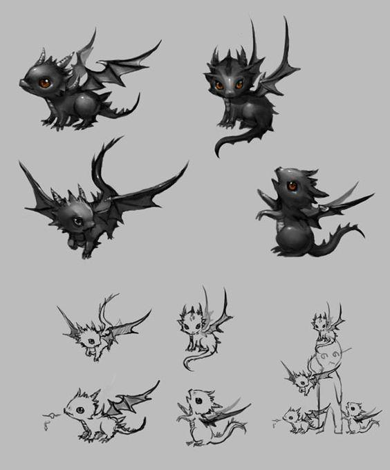 Baby dragons! :)