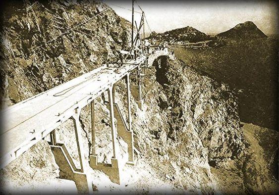 Historias Mazatlecas El Puente del desaparecido Paseo Gral. Juan Dominguez 1935