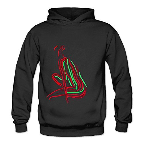 Lennakay Work Adults A Tribe Quest Classic Hoddies With No Pocket Black For Woman SizeL -- Check out this great product.