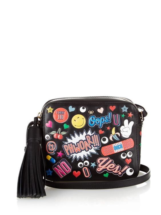 All Over Stickers leather cross-body bag by Anya Hindmarch | Shop now at #MATCHESFASHION.COM