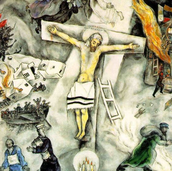 Marc chagall on Pinterest Crucifixion Marc Chagall