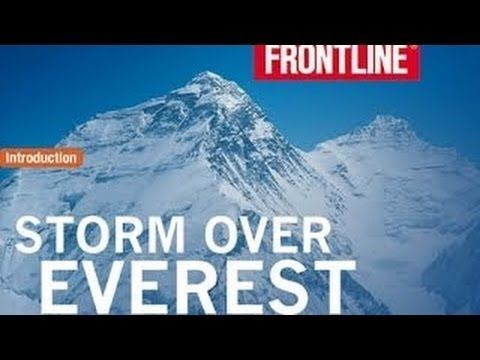 Storm Over Everest 2008 1996 Disaster Documentary By Pbs