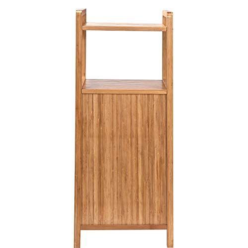 Butlers Big Bamboo Bad Regal Mit Waschekorb Aus Bambus 40x95 Cm Badezimmer Schrank Aus Holz Amazon De Kuche In 2020 Natural Home Decor Home Decor Ladder Decor