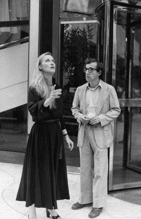 Meryl Streep and Woody Allen in Manhattan (1979)