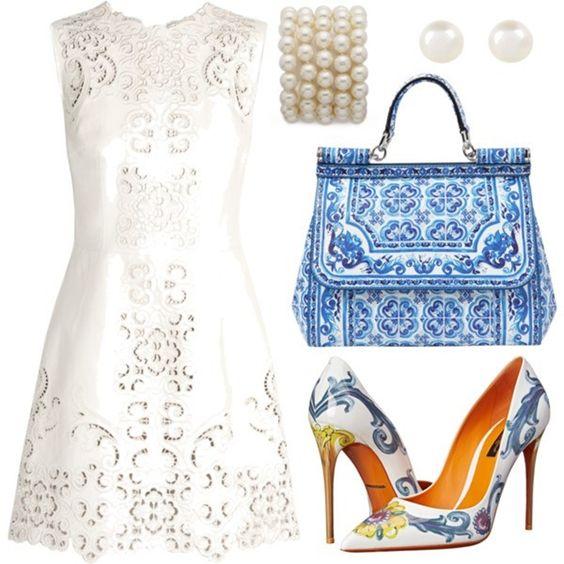 الخزف الأزرق موضة أزياء دولتشي آند غابانا صيف 2015 مجلة ازياء Fashion Fashion Mag Dolce And Gabbana