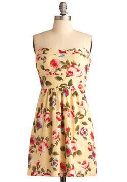 Blossoms and Buttercream Dress