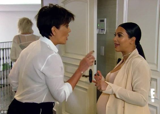 The struggles of the rich and famous: Kim Kardashian and Kris Jenner got into an argument about marble in a preview clip for Sunday's episode of Keeping Up With The Kardashians