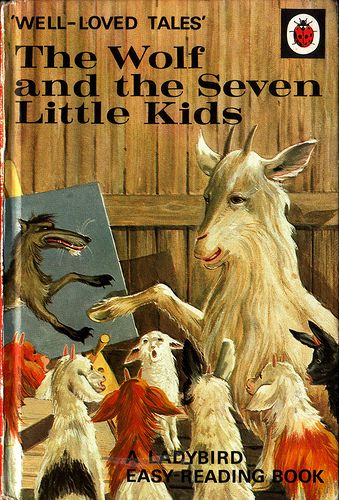 The Wolf and the Seven little kids by Linzie Hunter, via Flickr
