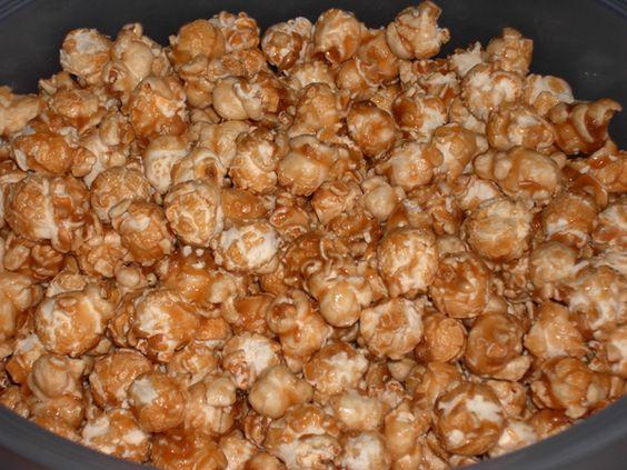 Popcorn caramellati in microonde