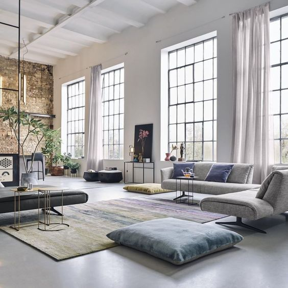 61 Intricate Living Room Design Inspiration Living Room Design Inspiration Loft Design Industrial Loft Design