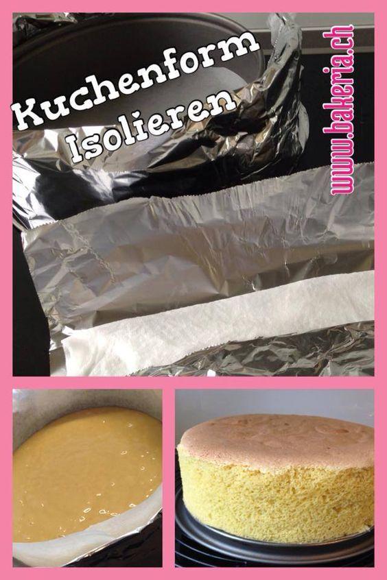 Kuchen gleichmässig backen | Backen mit Bakeria.ch