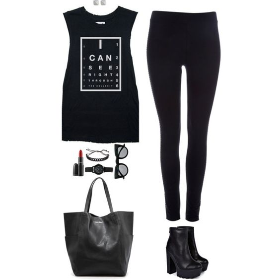 """""""Don't worry, i can see right through your bullish*t"""" by xoxomuty on Polyvore"""