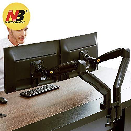 Nb North Bayou Dual Monitor Desk Mount Stand Full Motion Swivel