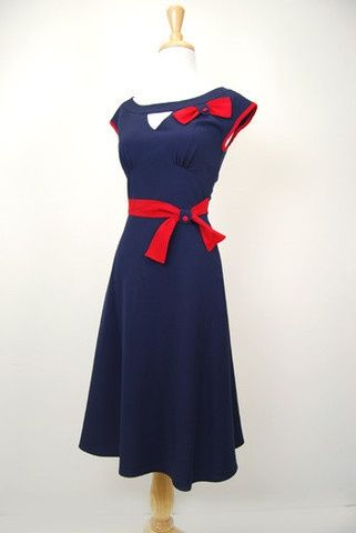 Retro Dresses Vintage Inspired Clothing - Red Dress Shoppe  Style ...