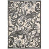 Found it at Wayfair - Graphic Illusions Gray Abstract Area Rug