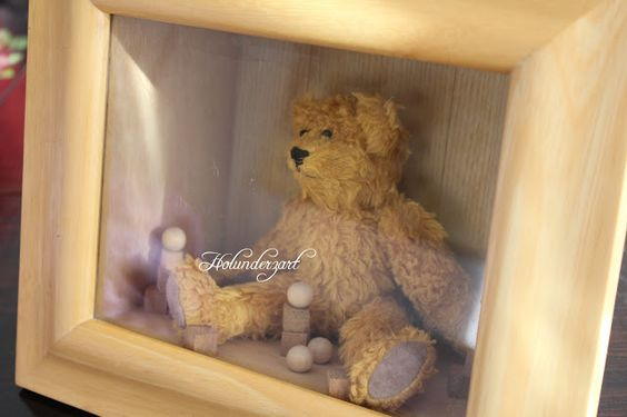 Teddy in the box