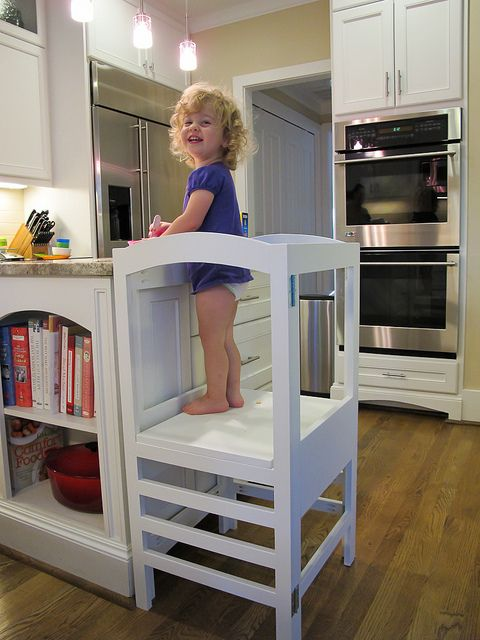 Modified Folding Kitchen Helper From Ana White Com Diy