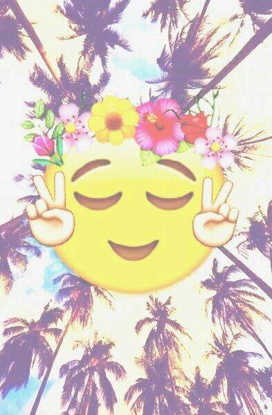 image via we heart it wallpaper emoji emojis