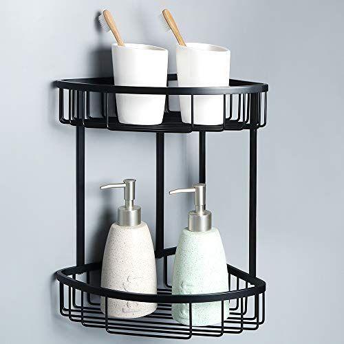 Alise G7162 B Sus304 Stainless Steel Bathroom Shower Caddy 2 Tier Corner Basket Storage Shampoo Condi With Images Stainless Steel Bathroom Shower Caddy Corner Shower Caddy