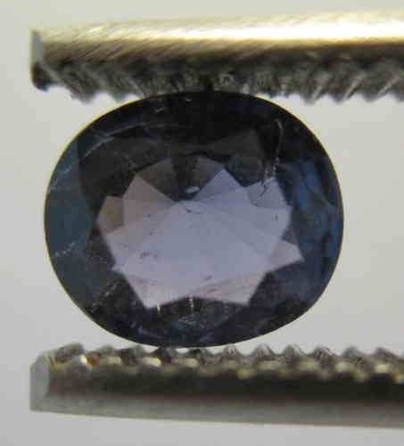 Blue Sapphire oval, Origin Viet Nam: 1,20 ct 7,5 x 6,0 x 3,5 mm - www.kn-jewellery.com