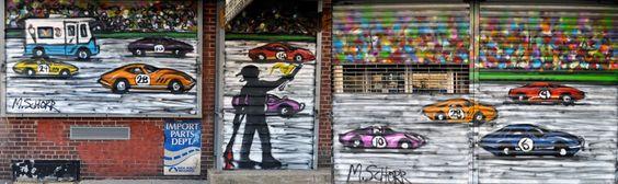 Mitchell Schorr's NYC 3D murals