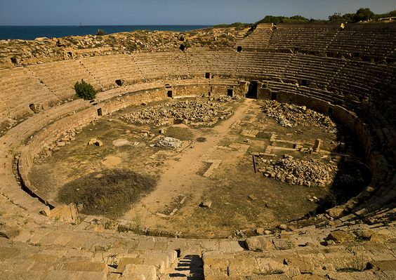 Amphitheater, Leptis Magna, Libya