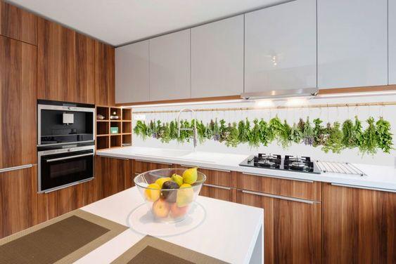 35 Küchenrückwände aus Glas - opulenter Spritzschutz für die Küche - küche spritzschutz selber machen