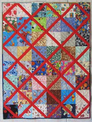 Alamosa Quilter: Lattice Quilt Tutorial