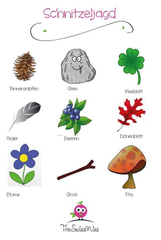 Einfache Schnitzeljagd Zum Ausdrucken. | Schönes Zum Ausdrucken | Pinterest  | Kindergarten, Kid Activities And Activiu2026