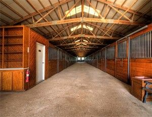 Dreaming of my own horse barn.