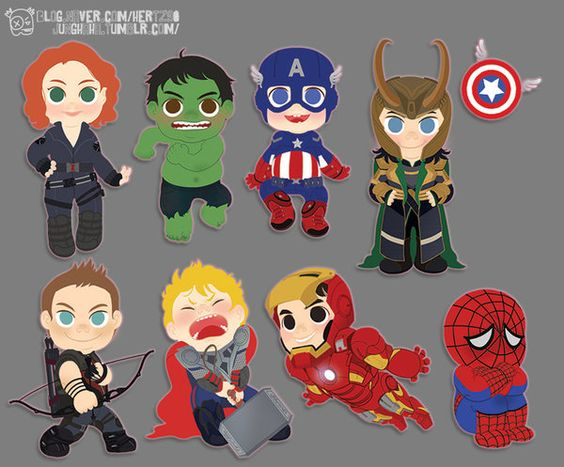 avengers clay necklace - Google Search