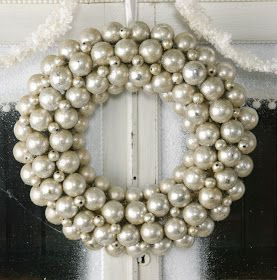 Color Outside the Lines: Love ... Ornament Wreaths