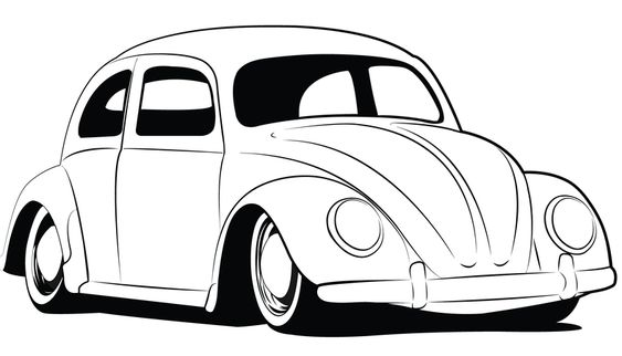Love Bug Coloring Pages Vw Vw Bug Drawings Http Www