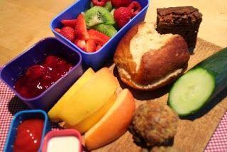 Berlin Brotbox: Box No 58 #lunchbox #brownies #lunchideas
