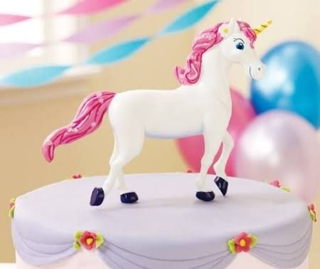 Party Destination 159318 Enchanted Unicorn Cake Topper