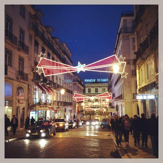 Rua do Carmo - Christmas