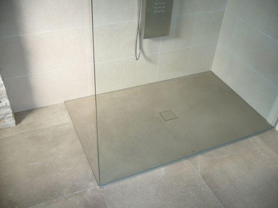 Dusche Ohne Tur Kalt : Boden dusche realisiert mit b ton cir original ...