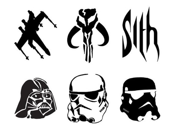 star wars pumpkin carving stencils sith darth vader. Black Bedroom Furniture Sets. Home Design Ideas
