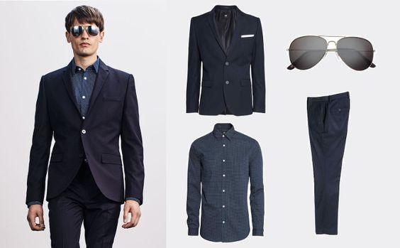 Los 6 looks de oficina que propone H&M para la vuelta de las vacaciones   Rayas y Cuadros: Blog de Moda Masculina