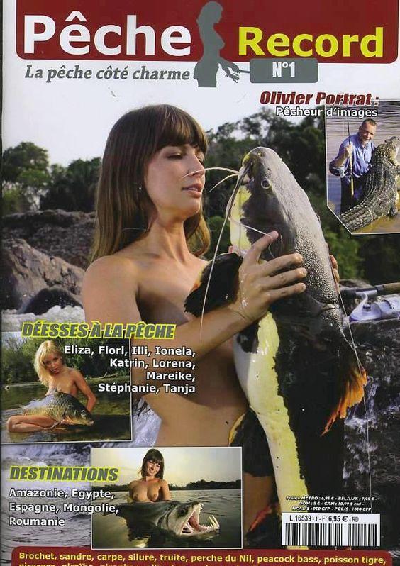 Fishing magazine, with big tits oO