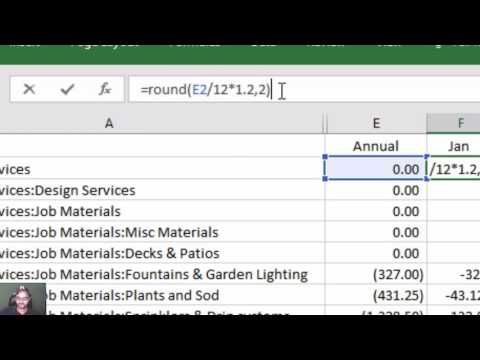 Create Or Edit Your Quickbooks Budget In Excel Experts In Quickbooks Consulting Quickbooks Training By Accountant Budgeting Budget Forecasting Quickbooks