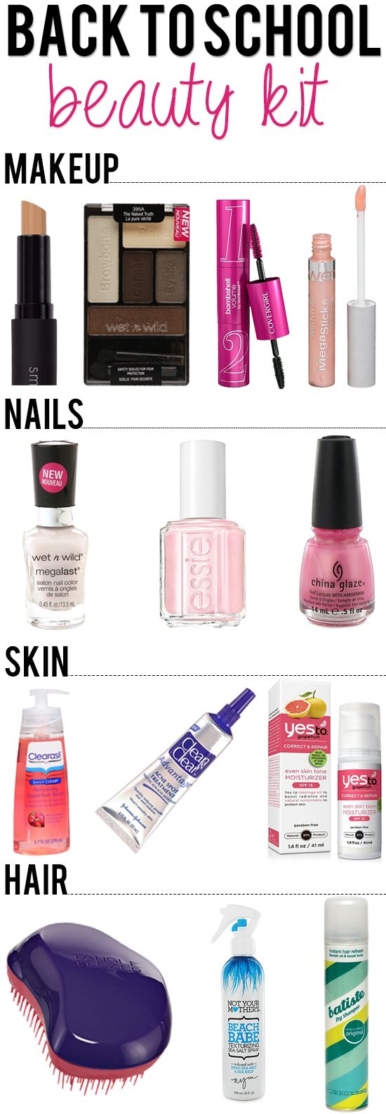 All the things you need to accentuate your natural beauty