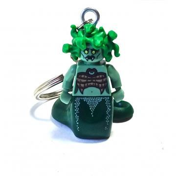 Medusa Minifigure Keychain  Good for Mythology Teachings!