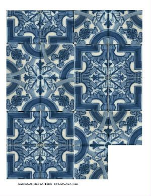 Go here for examples of portuguese blue & white & delft tiles