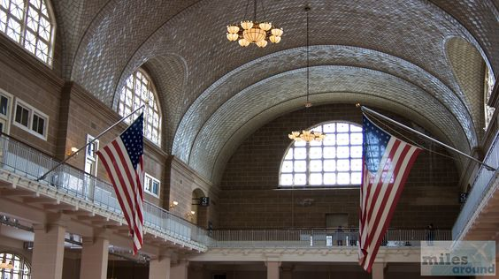 Great Hall - Ellis Island - Check more at http://www.miles-around.de/nordamerika/usa/new-york/nyc-lower-manhattan-statue-of-liberty-und-ellis-island/,  #EllisIsland #LibertyIsland #LowerManhattan #Manhattan #NewYork #NewYorkCity #NewYorkPass #Reisebericht #StatueofLiberty #USA
